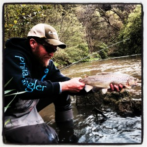 Ryan Davey - Primal Angler - German Brown Trout